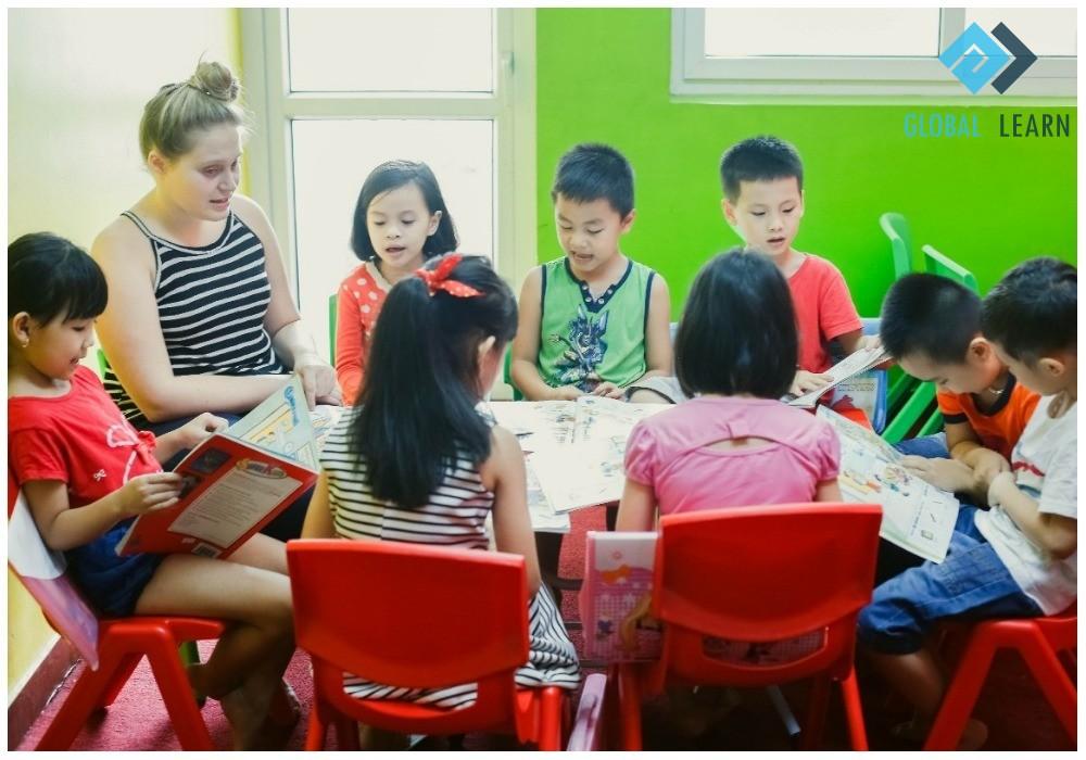 Tuyển giáo viên tiếng Anh tphcm cho trẻ