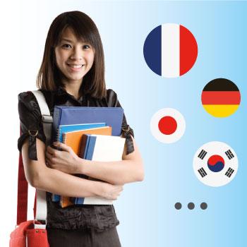 Korean Germany France Japanese teachers at Global Learn